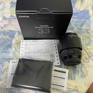 富士フイルム - FUJIFILM XF 33mm F1.4 R LM WR