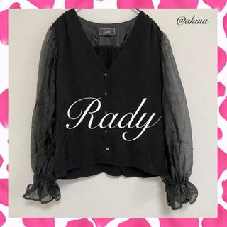 レディー(Rady)のRady シフォンシャツ(シャツ/ブラウス(長袖/七分))