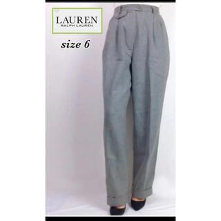 ラルフローレン(Ralph Lauren)のLAUREN RALPH LAUREN USA製 ウールパンツ スラックス(カジュアルパンツ)