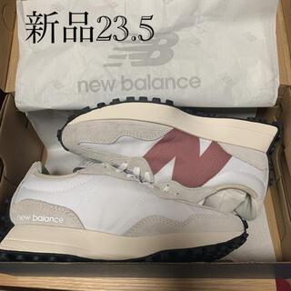 ニューバランス(New Balance)のニューバランス ウィメンズ WS327CD ライトグレー/ローズ(スニーカー)