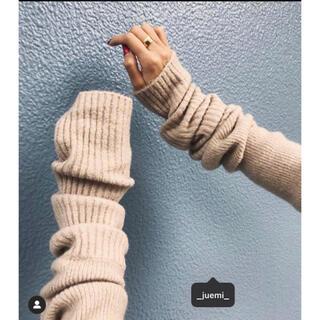 アリシアスタン(ALEXIA STAM)のJUEMI Pillingless Long Sleeve Knit (ニット/セーター)