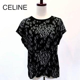 セリーヌ(celine)の【超人気】セリーヌ クリスチャンマークレー Tシャツ KLAK M 黒 Q16(Tシャツ(半袖/袖なし))