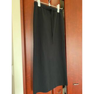 プラージュ(Plage)のplage CO&NY Tight スカート ブラック、サイズ38(ロングスカート)