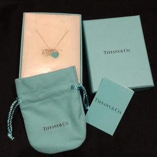 Tiffany & Co. - Tiffany&Co ミニダブル ハートタグ ペンダント ネックレス 新品