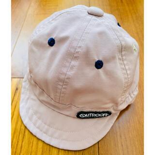 アウトドア(OUTDOOR)のOUTDOOR®︎  ベビー帽子 48cm 調節付き(帽子)