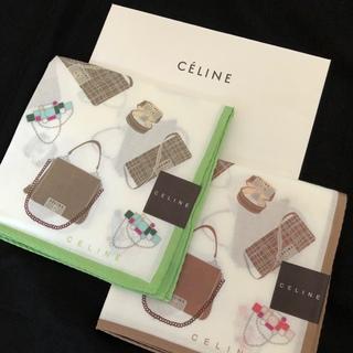 セリーヌ(celine)のセリーヌ ハンカチ 2枚(ハンカチ)