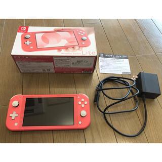 ニンテンドースイッチ(Nintendo Switch)のNintendo Switch Light スイッチライト コーラル ピンク(携帯用ゲーム機本体)