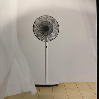 BALMUDA - 送料込み BALMUDA 扇風機 バルミューダ EGF1700 保証付き