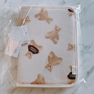 gelato pique - 【完売品】ジェラートピケ テディベアモチーフ くまさん母子手帳ケース 《新品》