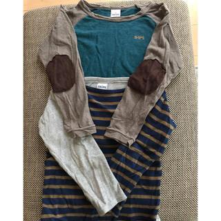 シップスキッズ(SHIPS KIDS)のSHIPS  長袖 Tシャツ  2枚  シップス  サイズ 100(Tシャツ/カットソー)