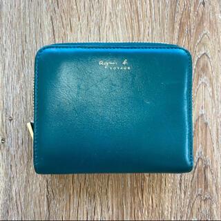 agnes b. - r1986 アニエスベー ボヤージュ レザー 財布