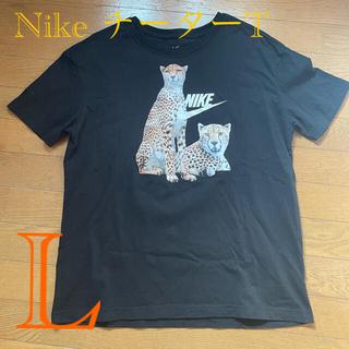 ナイキ(NIKE)のナイキ ウィメンズ ボーイフィアス Tシャツ L チーター(Tシャツ(半袖/袖なし))