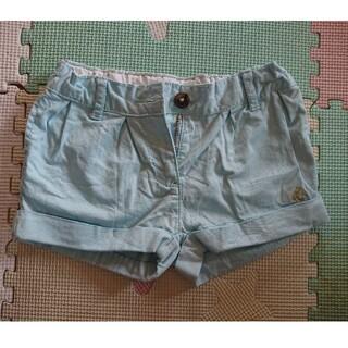 プチバトー(PETIT BATEAU)のプチバトー ショートパンツ 薄水色(パンツ/スパッツ)