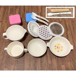 ミキハウス(mikihouse)のミキハウス☆テーブルウェアセット 離乳食食器セット(離乳食器セット)