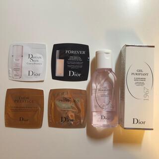 ディオール(Dior)のDIOR ノベルティー サンプル(乳液/ミルク)
