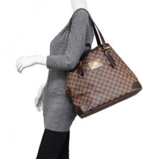 LOUIS VUITTON - 美品♡ルイヴィトン ハムステッド トートバッグ