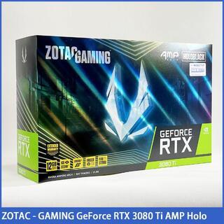 【新品未開封】ZOTAC GeForce RTX 3080Ti AMP Holo