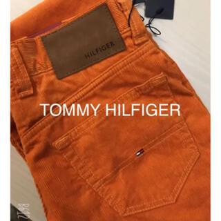 トミーヒルフィガー(TOMMY HILFIGER)のTOMMY HILFIGER♡スモーキーオレンジ カジュアルパンツ 新品(ワークパンツ/カーゴパンツ)