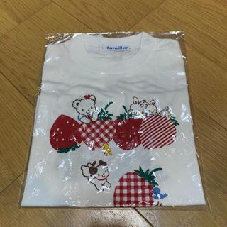 familiar - 【新品】ファミリアお話しTシャツ90cm