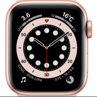 Apple Watch - Apple Watch Series 4 40mmゴールドアルミ ピンクスポーツ