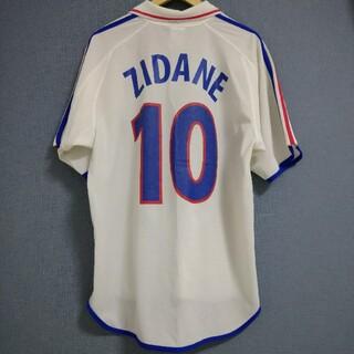 adidas - 土日限定値きセール! 2000年 フランス代表 ユニフォーム 背番号10 ジダン