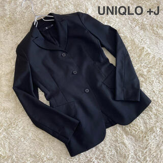 ジルサンダー(Jil Sander)のUNIQLO +J ジルサンダー ウールモヘヤ タイトフィットジャケット(テーラードジャケット)