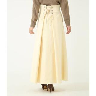 ロンハーマン(Ron Herman)のRonHerman ロンハーマン  コーデュロイスカート フレア(ロングスカート)