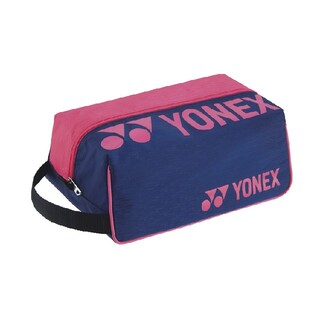 YONEX - 【ケース】YONEX シューズケース ネイビー/ピンク