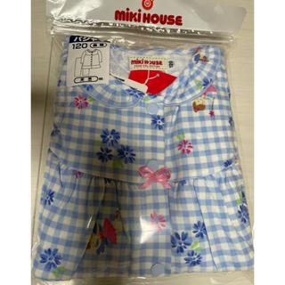 ミキハウス(mikihouse)のミキハウス リーナちゃん フリル付き長袖チェックパジャマ 120(パジャマ)