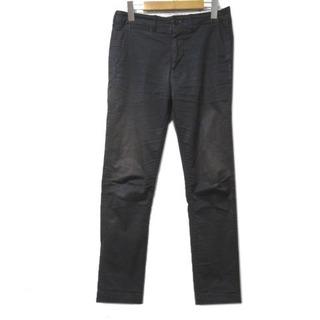 ビームス(BEAMS)のビームス BEAMS 20年モデル パンツ ストレッチテーパードチノ 黒 S(Tシャツ/カットソー(七分/長袖))