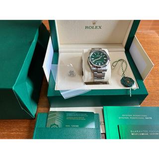 ROLEX - 124300 オイパペ41 グリーン