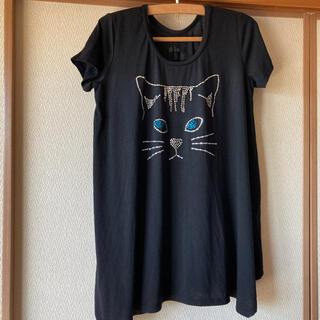 アズノウアズ(AS KNOW AS)のアズノウアズ  ネコちゃんTシャツ(Tシャツ(半袖/袖なし))