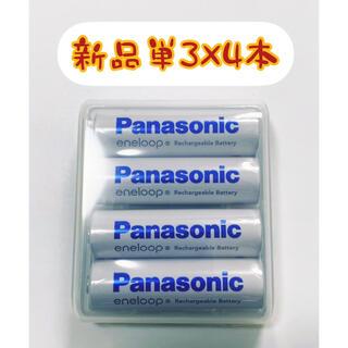 Panasonic - 【新品】エネループ 単3×4本