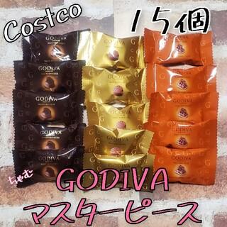 コストコ(コストコ)のコストコ ゴディバ マスターピース 15個(菓子/デザート)