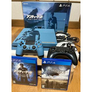 PlayStation4 - ps4 アンチャーテッド リミテッドエディション CUHJ-10011 本体