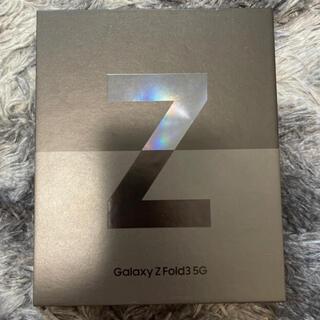 Galaxy - Galaxy Z Fold3 韓国版 256GB すぐ東京発送可能 ブラック~