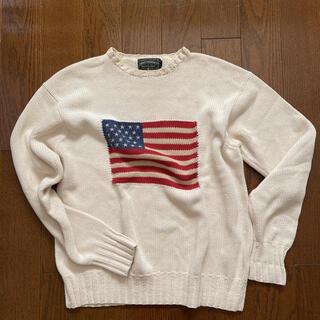 ラルフローレン(Ralph Lauren)のラルフローレン コットンニット 星条旗(ニット/セーター)