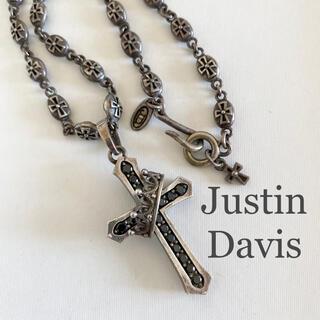 Justin Davis - ジャスティンデイビス クロス 十字架 ペンダントトップ シルバーアクセ