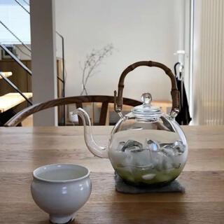 ヤエカ(YAECA)の新品 日ノ出化学製作所 ガラスポット M 竹の取手(食器)