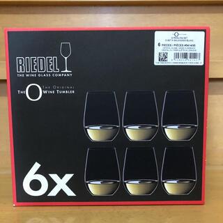 リーデル(RIEDEL)のリーデル オー ワインタンブラー 6個セット(アルコールグッズ)