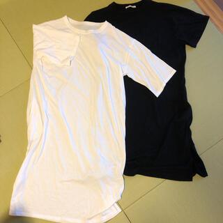 イーハイフンワールドギャラリー(E hyphen world gallery)のイーハイフンロングTシャツ(ロングワンピース/マキシワンピース)