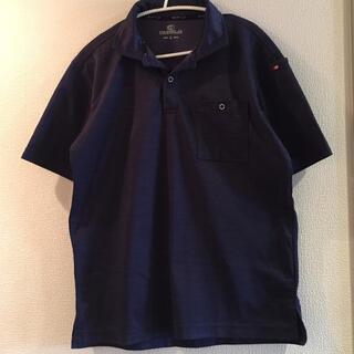 BURTLE - BURTLE 半袖シャツ ネイビー Lサイズ ドライ メッシュ