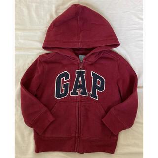 ベビーギャップ(babyGAP)のbaby gap ギャップ アウター パーカー ロゴ(ジャケット/上着)