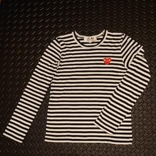 コムデギャルソン(COMME des GARCONS)のCOMME des GARCONS ボーダーロンT  Sサイズ(Tシャツ(長袖/七分))