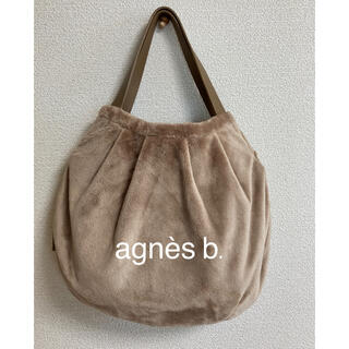 アニエスベー(agnes b.)のagnes b.  アニエスベー バッグ ファー ハンドバッグ ショルダーバッグ(ハンドバッグ)