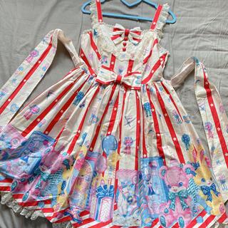 Angelic Pretty - Angelic Pretty Toy Doll Boxジャンパースカート