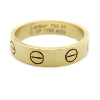Cartier - カルティエ ラブリング 指輪 750 K18 47 17号 イエローゴールド