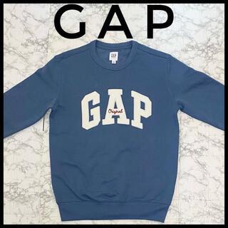 ギャップ(GAP)のGAP original メンズスウェットトレーナー 水色 XXSサイズ(スウェット)