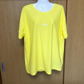 フィラ(FILA)のフィラ イエローTシャツ(Tシャツ(半袖/袖なし))