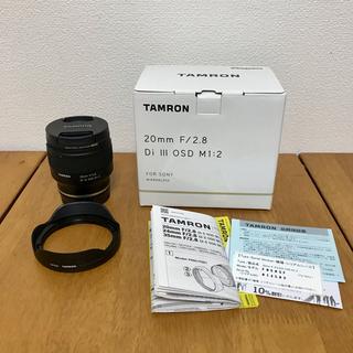TAMRON - [美品] TAMRON 20mm F/2.8 Di III OSD M1:2